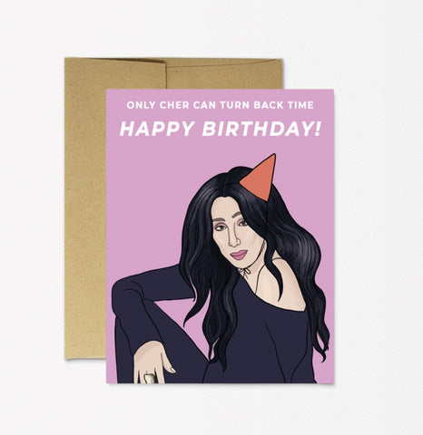 Card: Birthday Cher!! - Majesty and Friends - available from Majesty and Friends