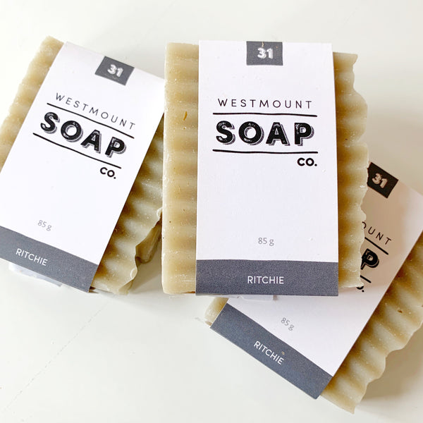 Westmount Soap Ritchie - Westmount soap - available from Majesty and Friends