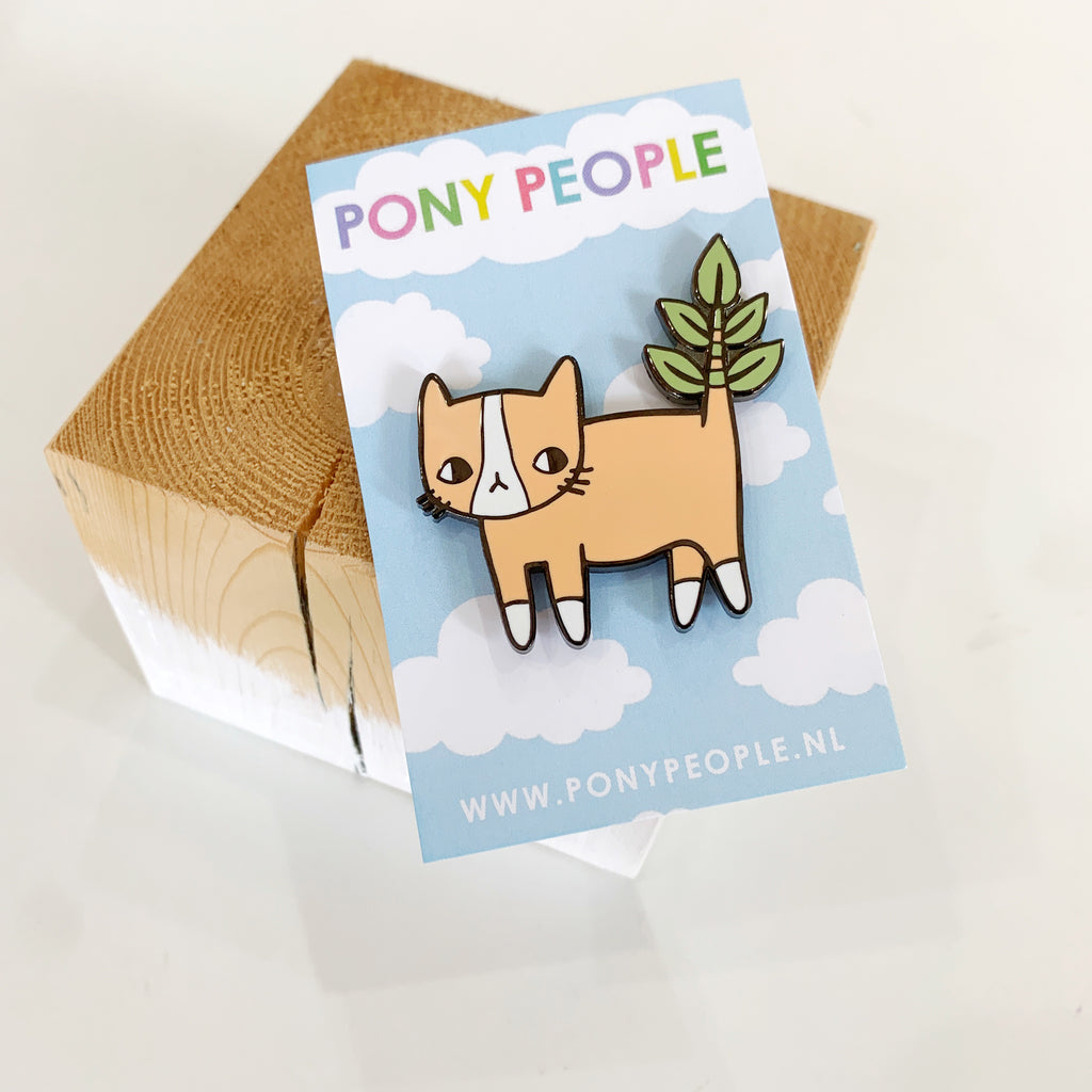 Pony People Plany Kitty Pin - Pony people - available from Majesty and Friends