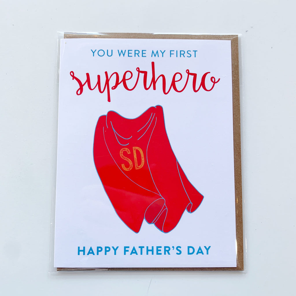 Card: Father's Day Superhero - Majesty and Friends - available from Majesty and Friends
