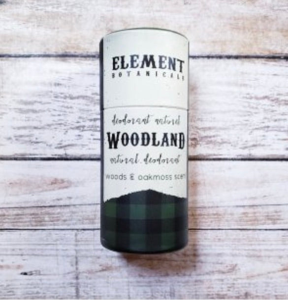 Element Botanicals Woodland Natural Deodorant - Element Botanicals - available from Majesty and Friends