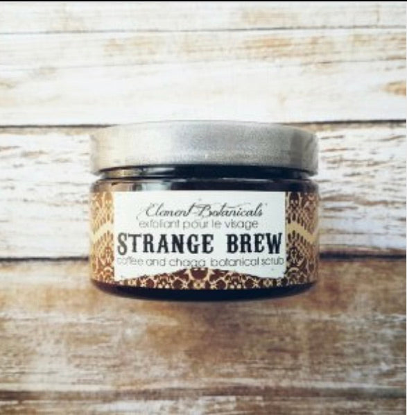 Element Botanicals Strange Brew Coffee Scrub - Element Botanicals - available from Majesty and Friends