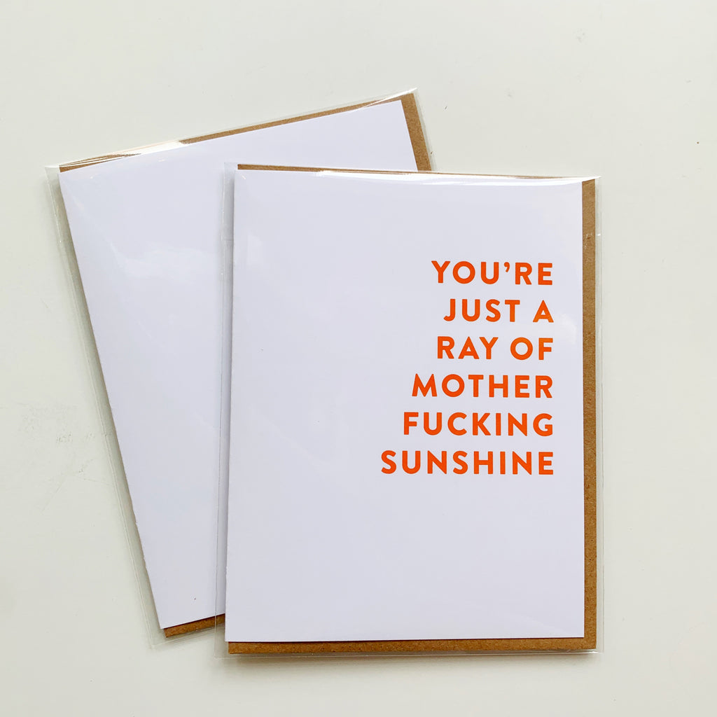 Card: Ray of Sunshine! (Mature) - Majesty and Friends - available from Majesty and Friends