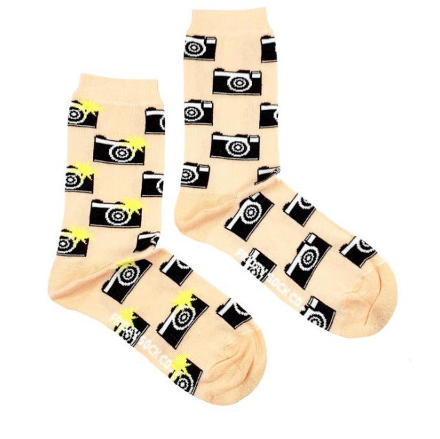 Friday Socks Cameras - Friday socks - available from Majesty and Friends