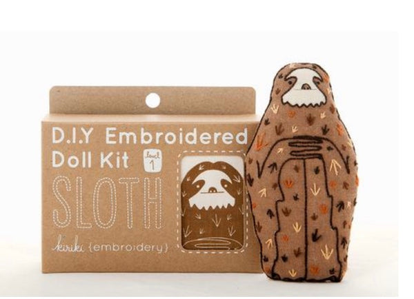 Embroider a Sloth!