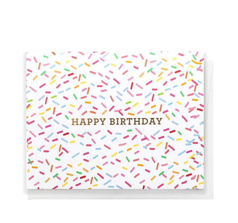 Card: Sprinkles Birthday!