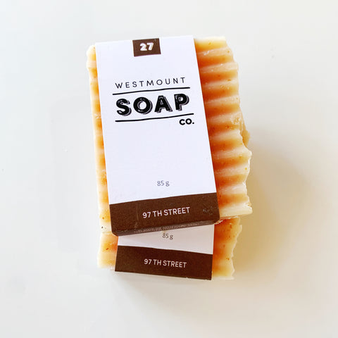 Westmount Soap 97th street - Westmount soap - available from Majesty and Friends