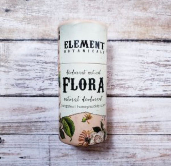 Element Botanicals Flora Natural Deodorant - Element Botanicals - available from Majesty and Friends