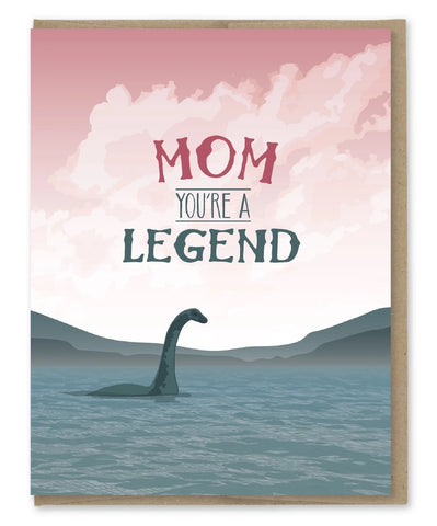 Card: Mothers Day, Mom you're a Legend!