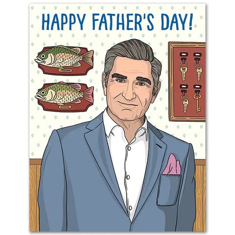 Card: Fathers Day Johnny Rose