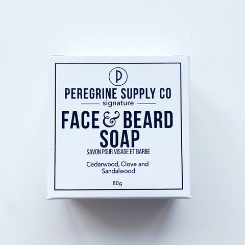 Peregrine Supply Face and Beard Bar - Peregrine Supply Co - available from Majesty and Friends