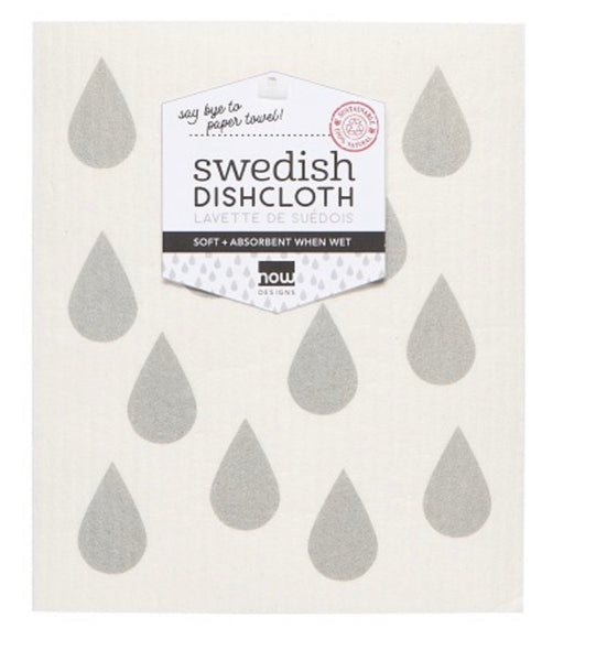 Swedish Dishcloth Grey Days