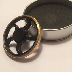 Fidget King Brass Wheel