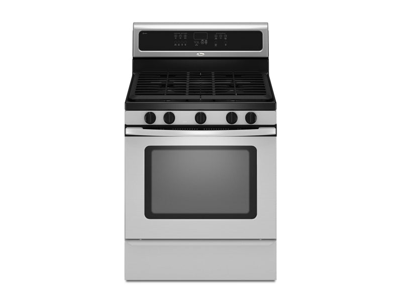 "30"" Whirlpool Self-Cleaning Freestanding Gas Range with TimeSavor Plus true convection cooking system - GFG461LVS"