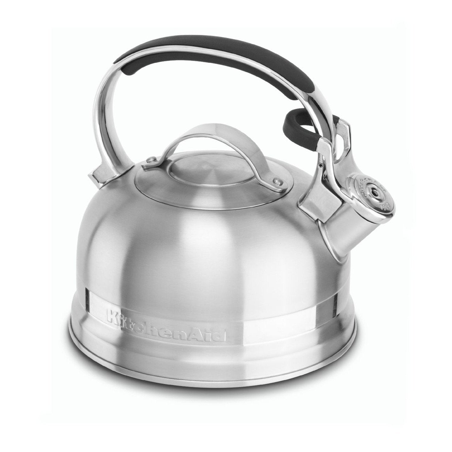 KitchenAid 2.0-Quart Kettle with Full Stainless Steel Handle and Trim Band - KTST20SBST