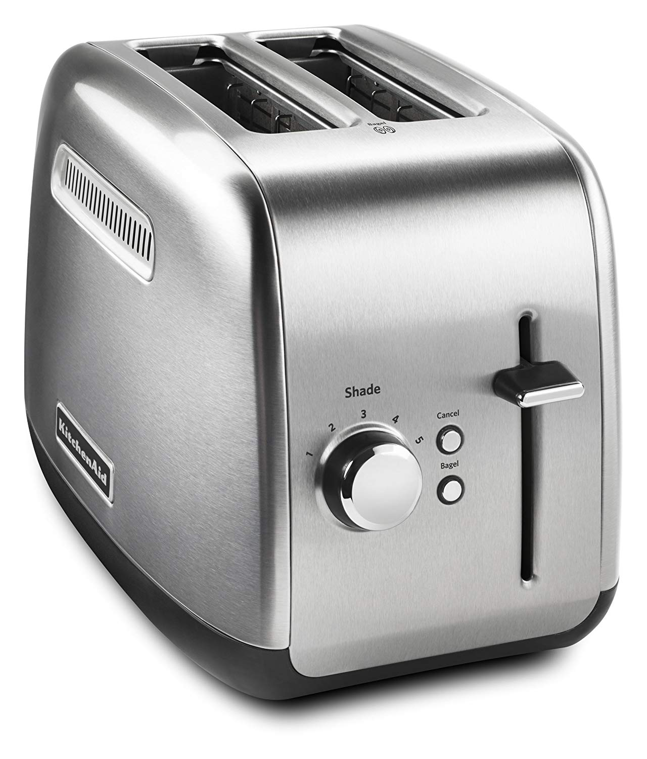 2 SLICE METAL TOASTER - MANUAL LIFT KMT2115SX