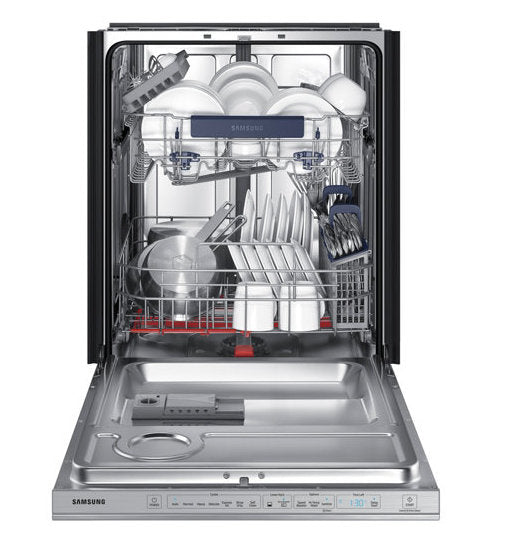 "24"" Samsung Top Control Dishwasher with WaterWall Technology - DW80M9550US"