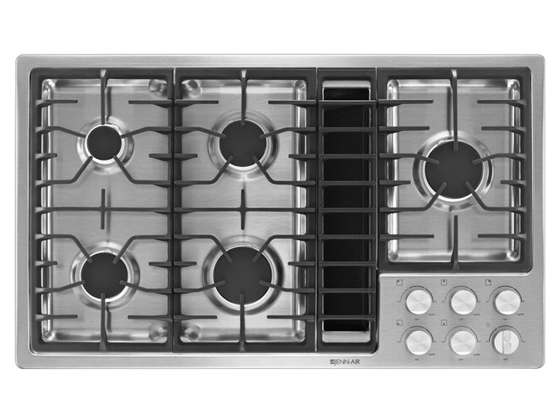"36"" Jenn-Air gas downdraft cooktop JGD3536BS"