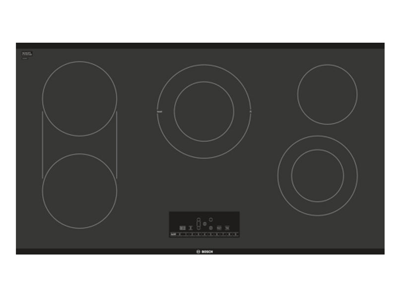 "36"" Bosch Electric Cooktop 800 Series - Black Frameless NET8668UC"