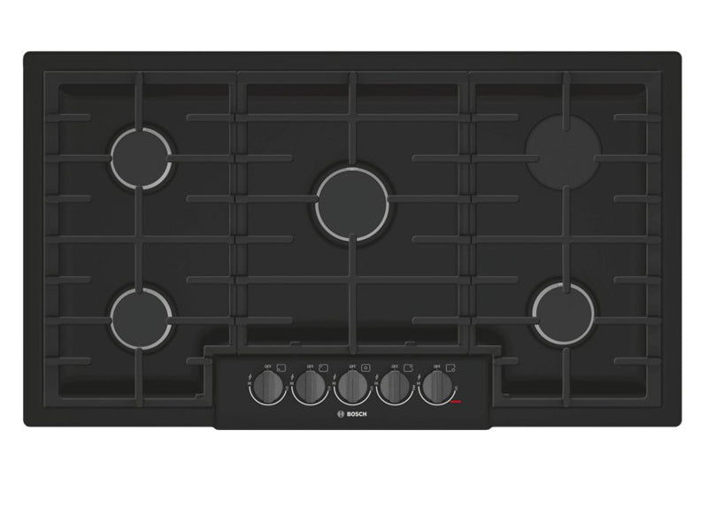 "37"" Bosch 800 Series Gas Cooktop 5 Burner-NGM8646UC"