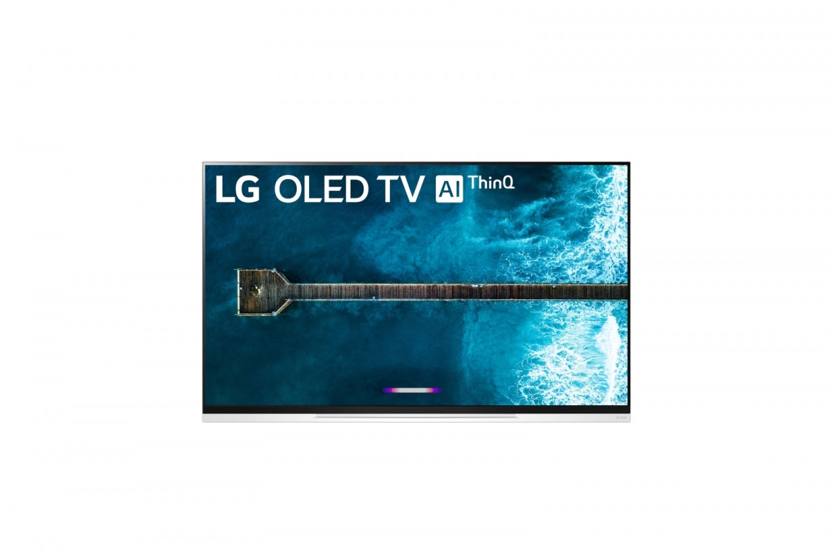 "65"" LG 65E9 4K HDR OLED Glass TV w/ AI ThinQ OLED65E9"