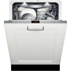 "24"" Bosch Panel Ready Dishwasher Benchmark Series- Stainless steel SHV8PT53UC"