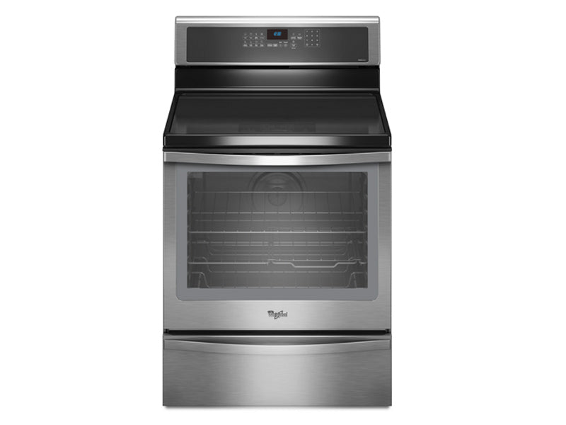 Whirlpool Gold 6.2 cu. ft. Capacity Induction Range with True Convection Cooking System - YWF1910H0AS