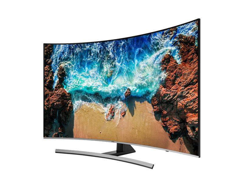 "Samsung UN55NU8500 55"" Curved 4K HDR10+ UHD TV"