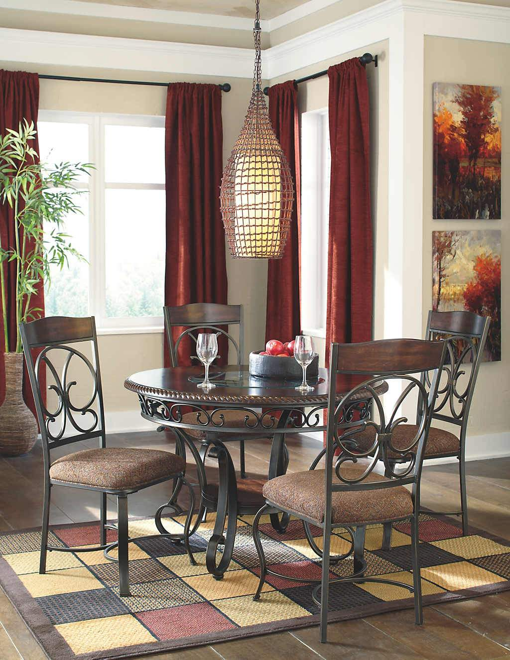 Dining room table set with Side Chair (4/CN) - D329-01/15
