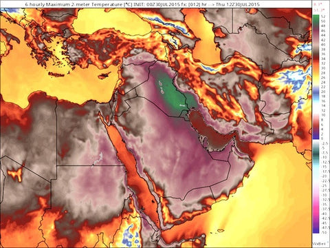 """Hot in the City"" takes on new meaning in Iran reaching 164 Degrees"