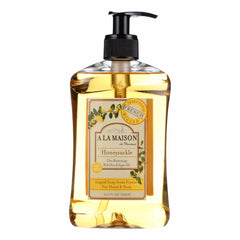 A La Maison French Liquid Soap - Honeysuckle - 16.9 Oz - A La Maison - Start Living Natural