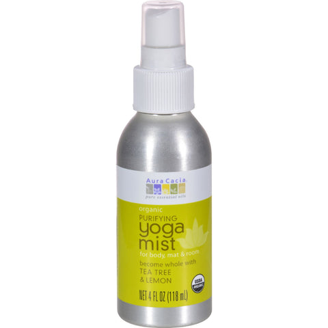 Organic Yoga Mist - 4 oz - Aura Cacia - Start Living Natural