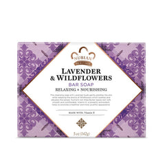 Nubian Heritage Bar Soap Lavender And Wildflowers - Start Living Natural