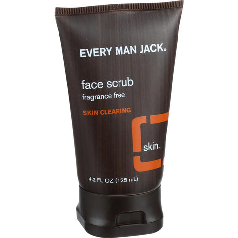 Face Scrub (Fragrance Free) - Every Man Jack - Start Living Natural