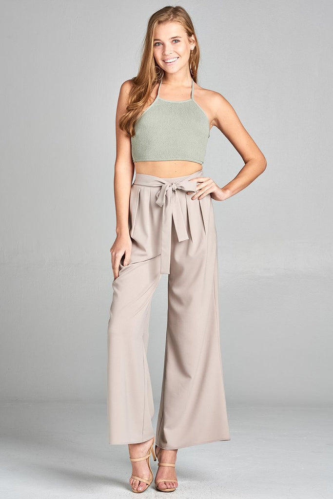 Halter Neck Crop Top