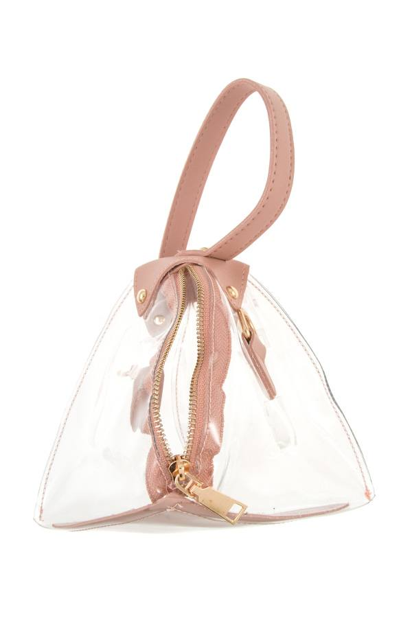Triangular Shape Mini Handbag