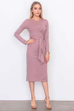 Jersey midi dress - Start Living Natural