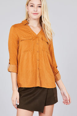 Challis Woven Shirt - Start Living Natural