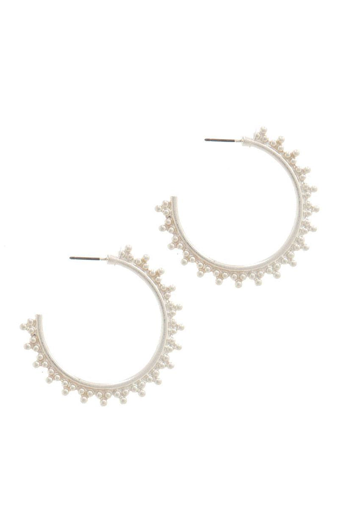Metal Open Hoop Earring