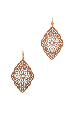 Filigree Chic Drop Earring - Start Living Natural
