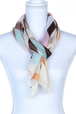 Geometric Pattern Oblong Scarf - Start Living Natural