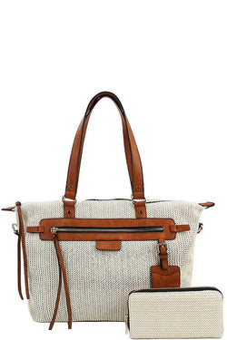 2 in 1 Princess Satchel With Matching Wallet - Start Living Natural