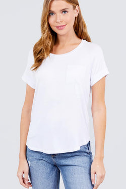 Super Comfy Short Raglan Sleeve Top - Start Living Natural