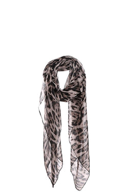 Fashion Leopard Chiffon Scarf - Start Living Natural