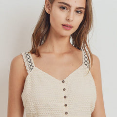 Knit Laced Top - Start Living Natural