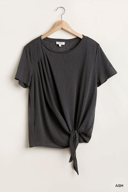 Flowy Front Knot Top - Start Living Natural