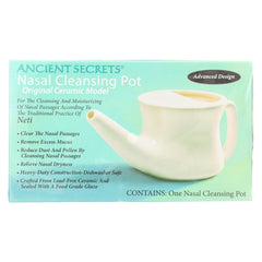 Ancient Secrets Nasal Cleansing Pot - Start Living Natural