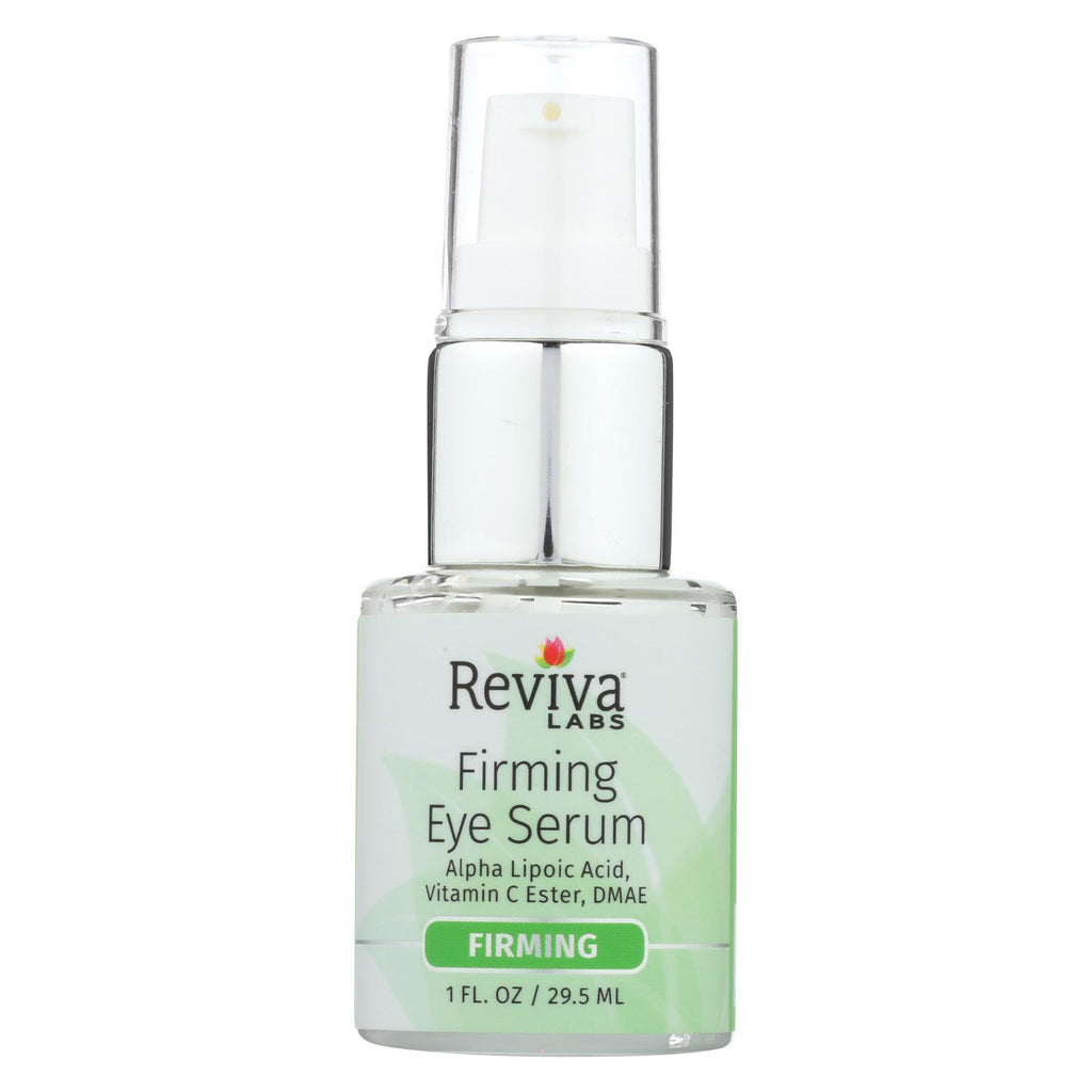 Reviva Labs Firming Eye Serum With Alpha Lipoic Acid Vitamin C Ester And Dmae No 368 - 1 Fl Oz - Reviva Labs - Start Living Natural