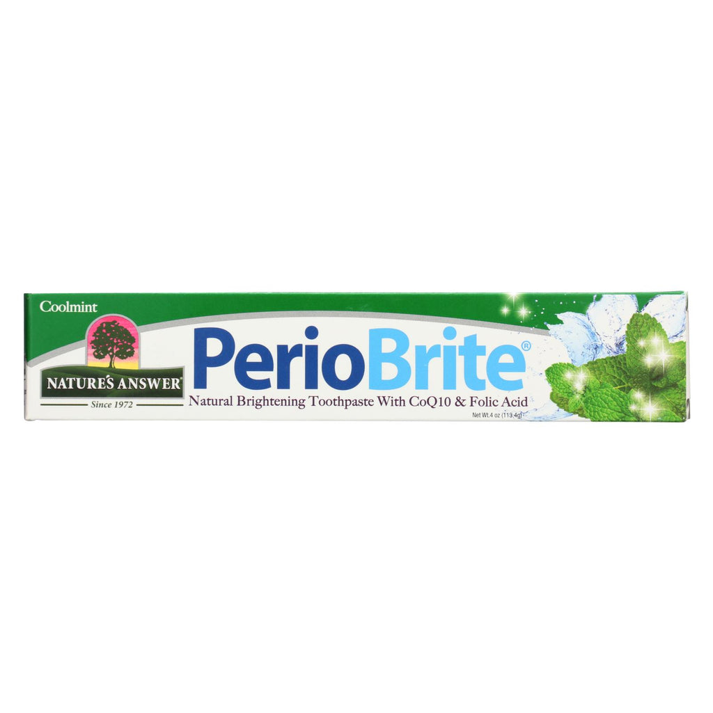 Nature's Answer - Periobrite Toothpaste Cool Mint