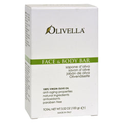 Olivella Face And Body Bar - 3.52 Oz - Start Living Natural